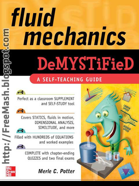 Fluid Mechanics DeMYSTiFieD PDF Ebook Free Download