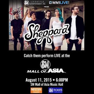 Sheppard Live in Manila
