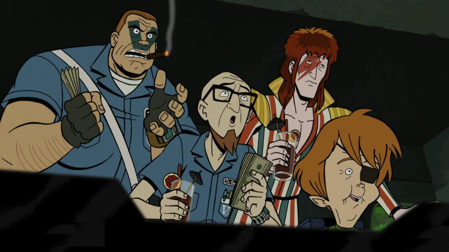 TV News: THE VENTURE BROS. Get Dressed Up For Their First ...