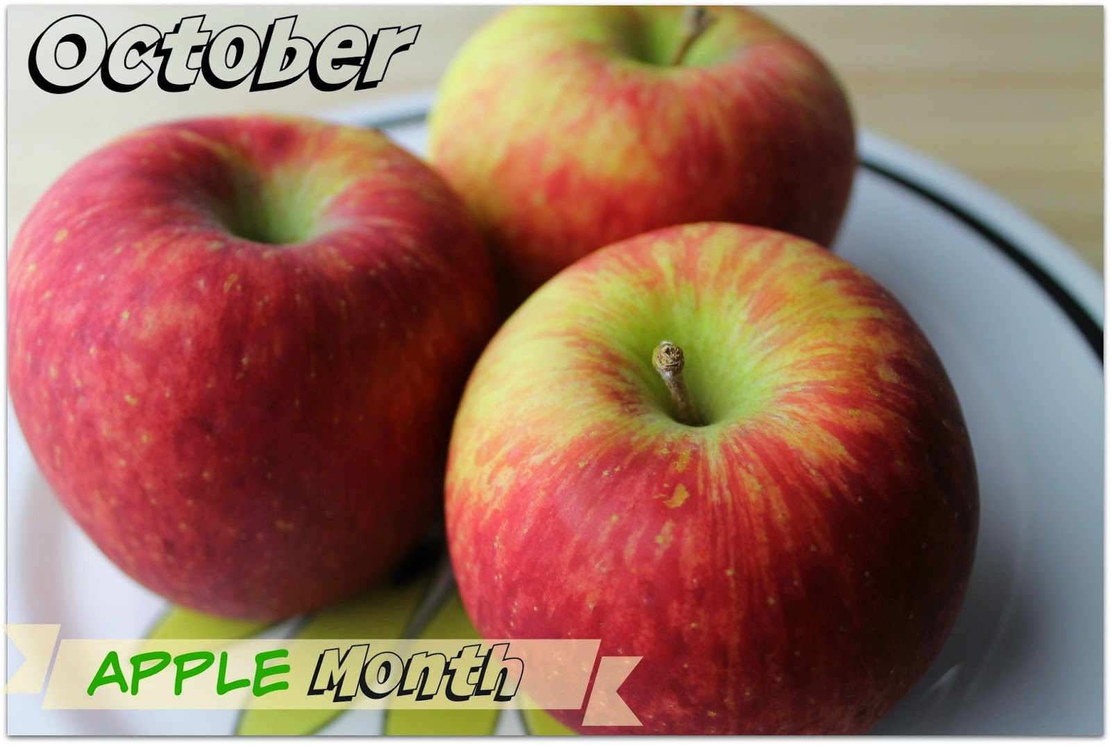 Cooking with Apples - Apple Month