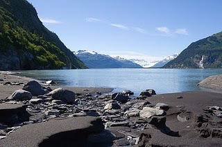 Black Sand Beach, Prince William Sound, alaska, pantai pasir hitam, beach nature picture, nature around, islands of the world