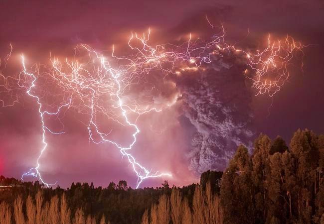 Relampagos Vulcânicos