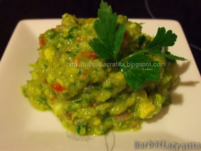 Guacamole - Sos de avocado reteta