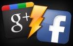 da Facebook a Google+ border=