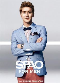 Super Junior Siwon SPAO SS 2013