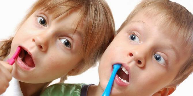 berus gigi dengan cara yang betul