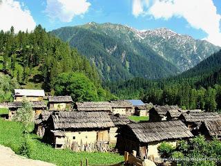 Village Halmet, Neelum Valley, Pakistan.