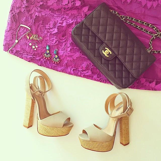 for love and lemons lace dress, schutz sandals, monica vinader bracelet, ring stack, accessoreis, fashion blog