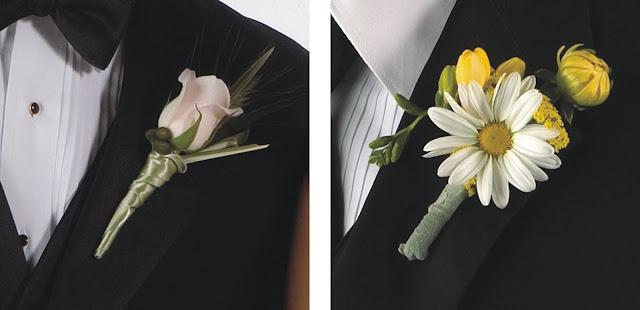 Żywe kwiaty do butonierki