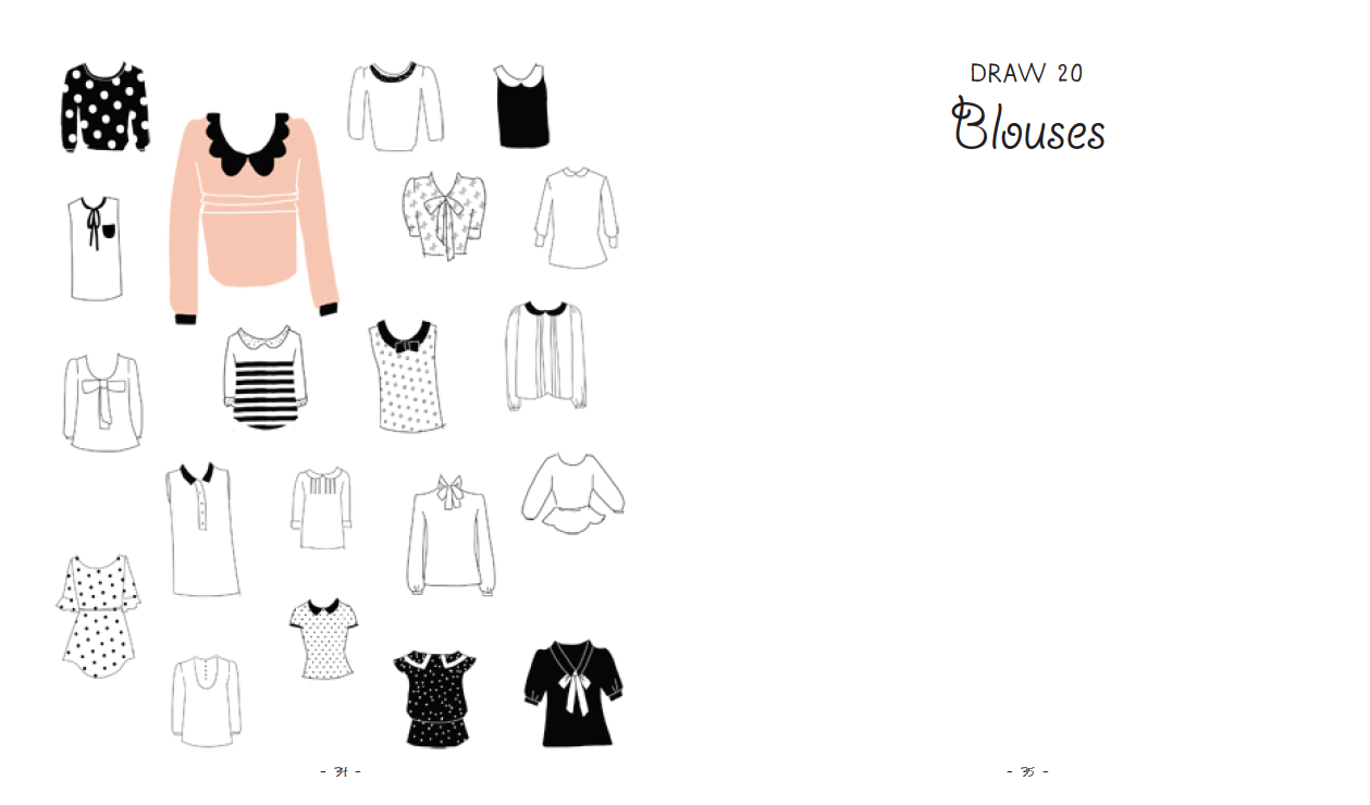 julia kuo  20 ways to draw a dress