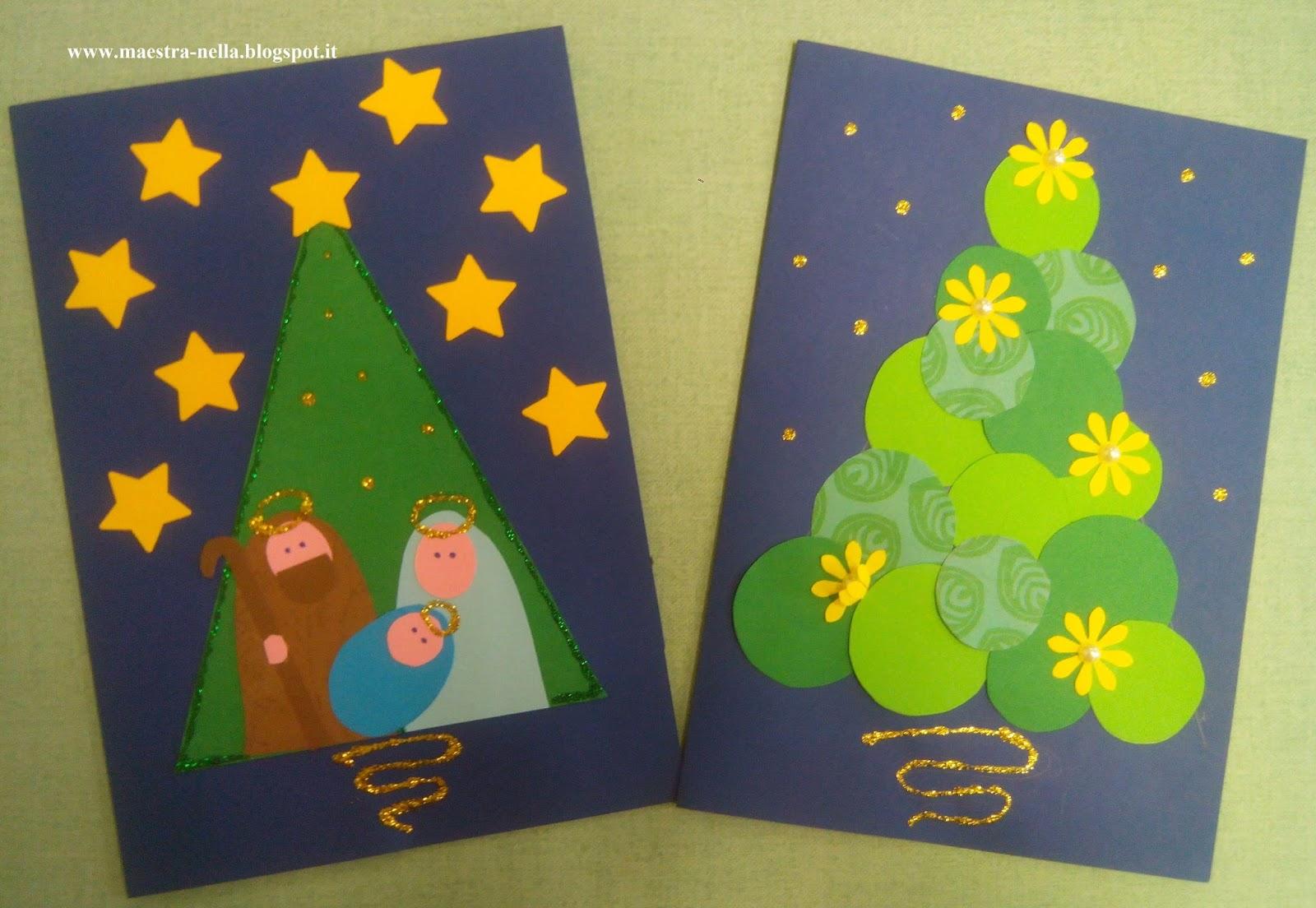 Popolare maestra Nella: biglietti di Natale VL52