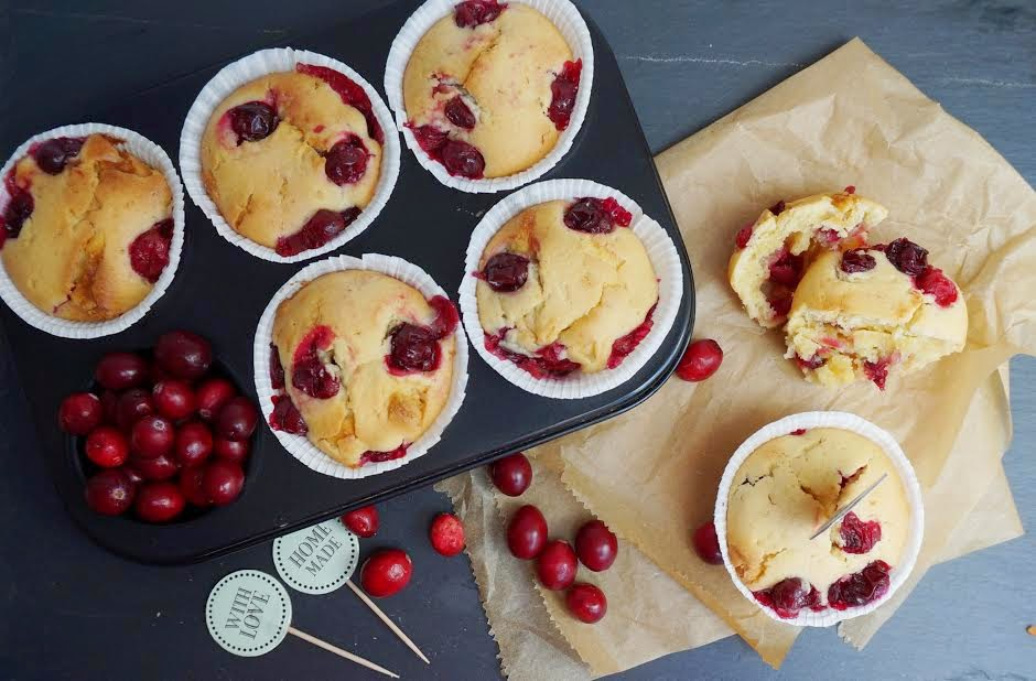 Cranberry White Chocolate Muffins - Victoria's Little Secrets