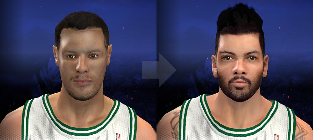 Vitor Faverani NBA2K14 Face