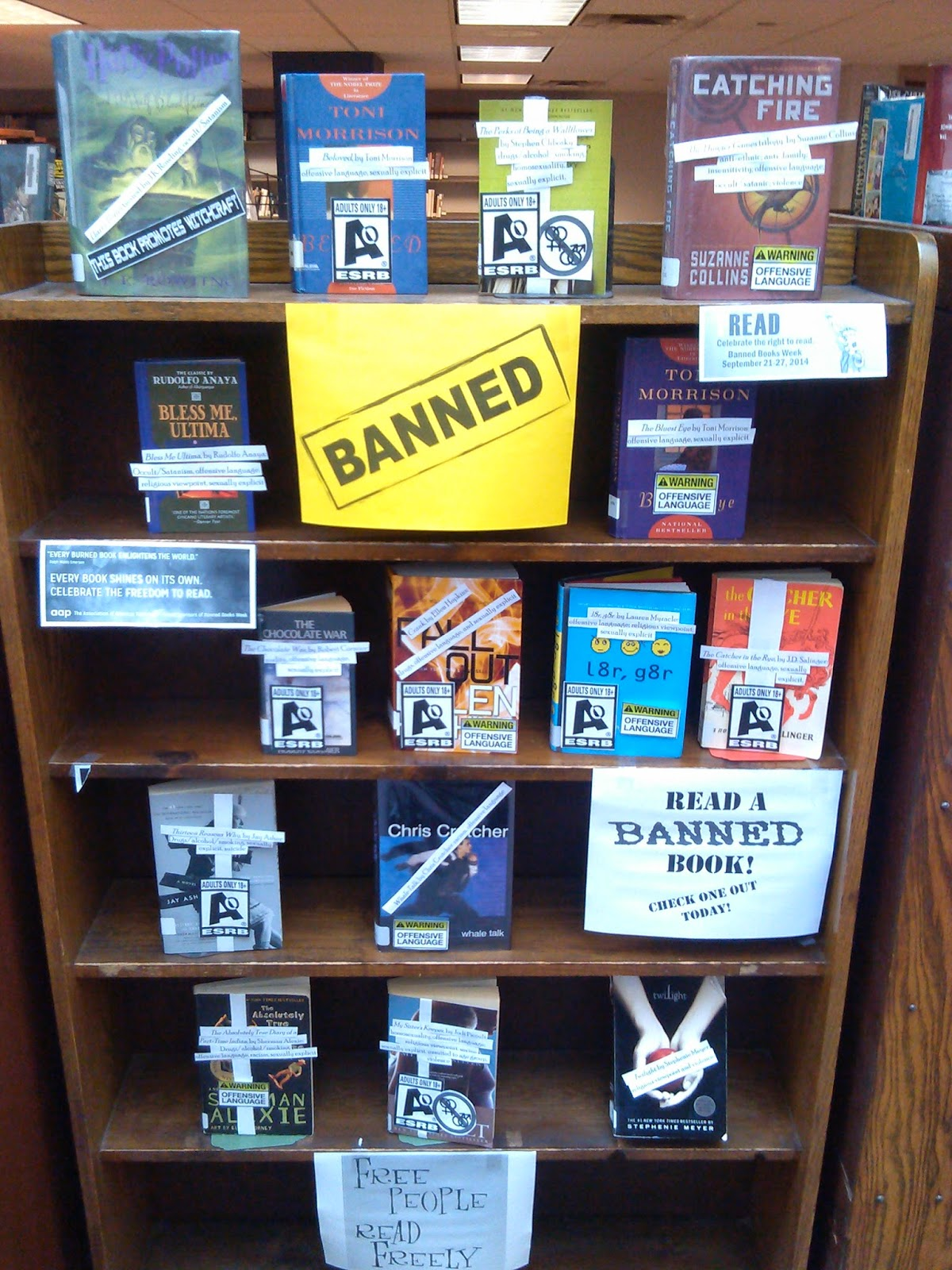 "essays on banning books in school libraries So-called alternative lifestyles and ""deviant"" behaviors that prompt libraries, schools, and businesses to ban books include drug use, fornication, and homosexuality brideshead revisited."