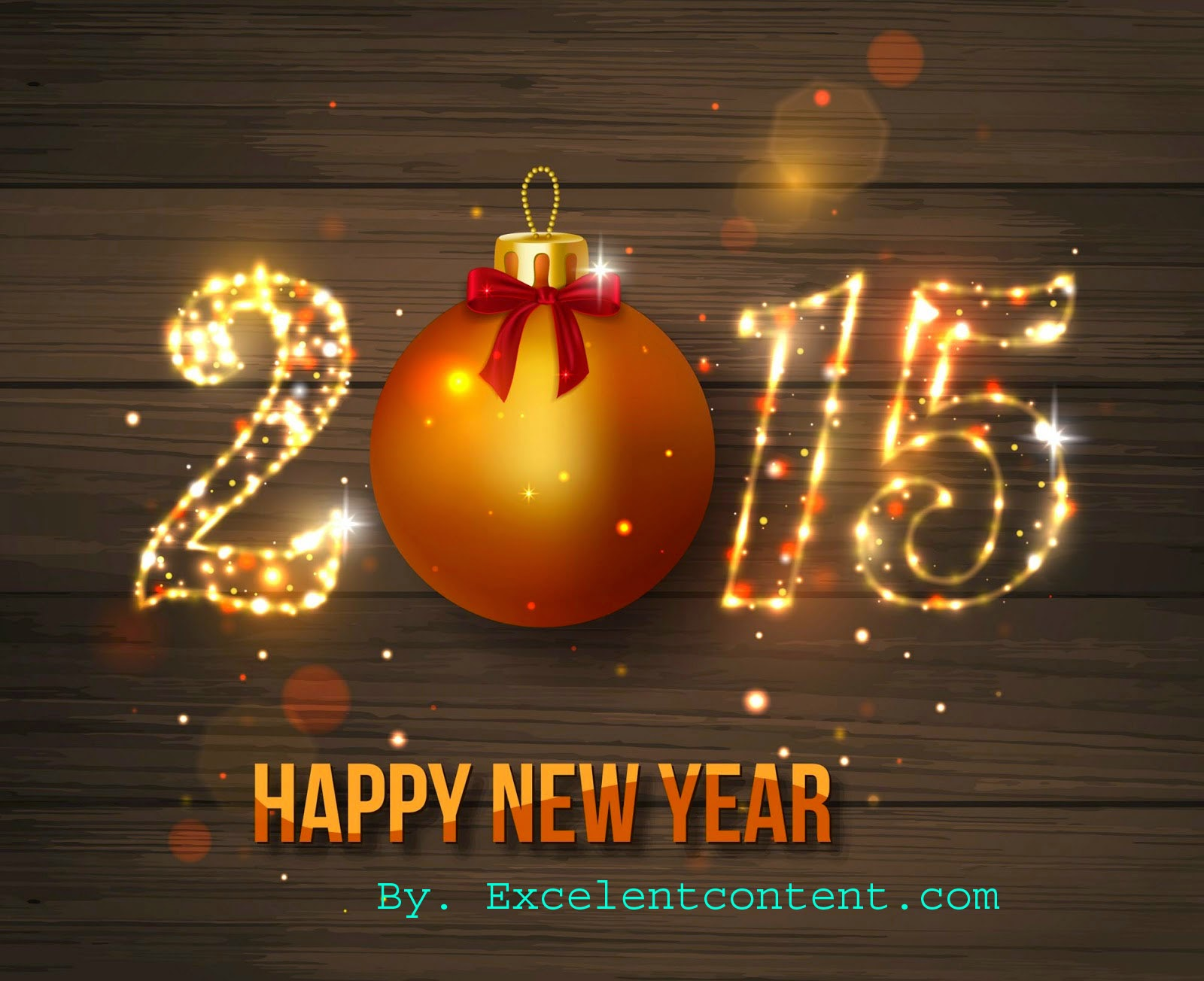 "wish you ""Happy New year 2015"""