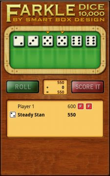 Free Farkle Dice Deluxe for Android