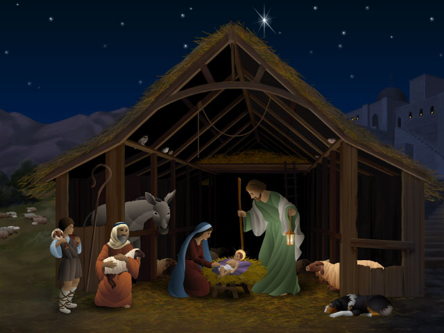 ... yours a very merry christmas as we celebrate the birth of jesus christ