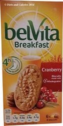 Belvita breakfast biscuit cranberry