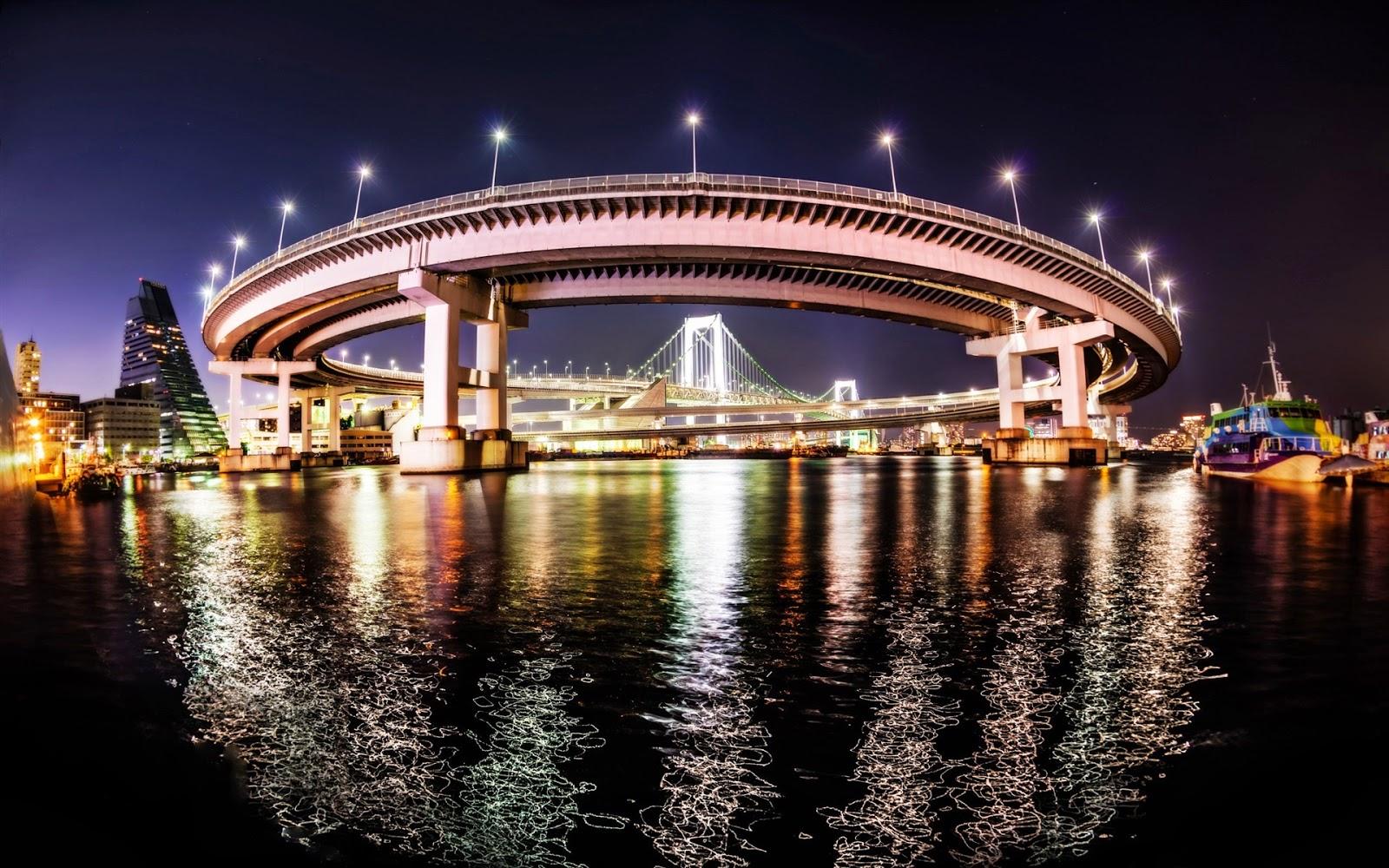 Infinite Loop Bridge in Tokyo