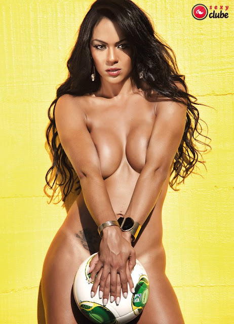 Aline Bernardes Playboy