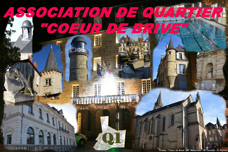 "ASSOCIATION DE QUARTIER ""COEUR DE BRIVE"""