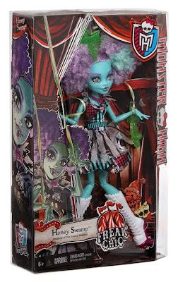 JUGUETES - MONSTER HIGH Freak Du Chic  Honey Swamp | Muñeca - doll  Toys | Producto Oficial 2015 | Mattel CHX93 | A partir de 6 años