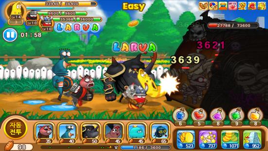 free game larva heroes