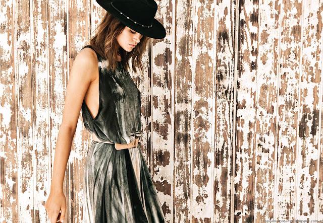 Vestidos de moda estilo casual urbano. Moda 2016 Pura Pampa colección primavera verano.