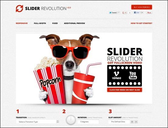 Slider revolution modx - 8d