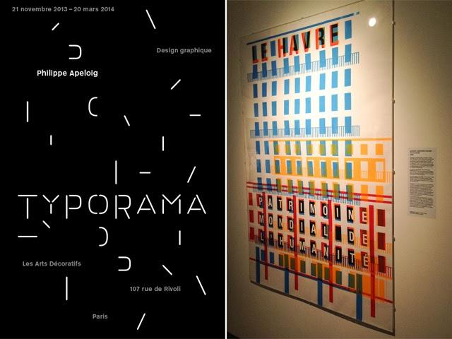 Expo Typorama Arts Décoratifs Paris