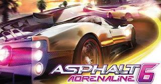 asphalt 6 adrenaline, game keren, mobil