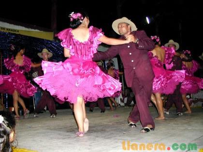 dibujo sobre venezuela baile tipico: