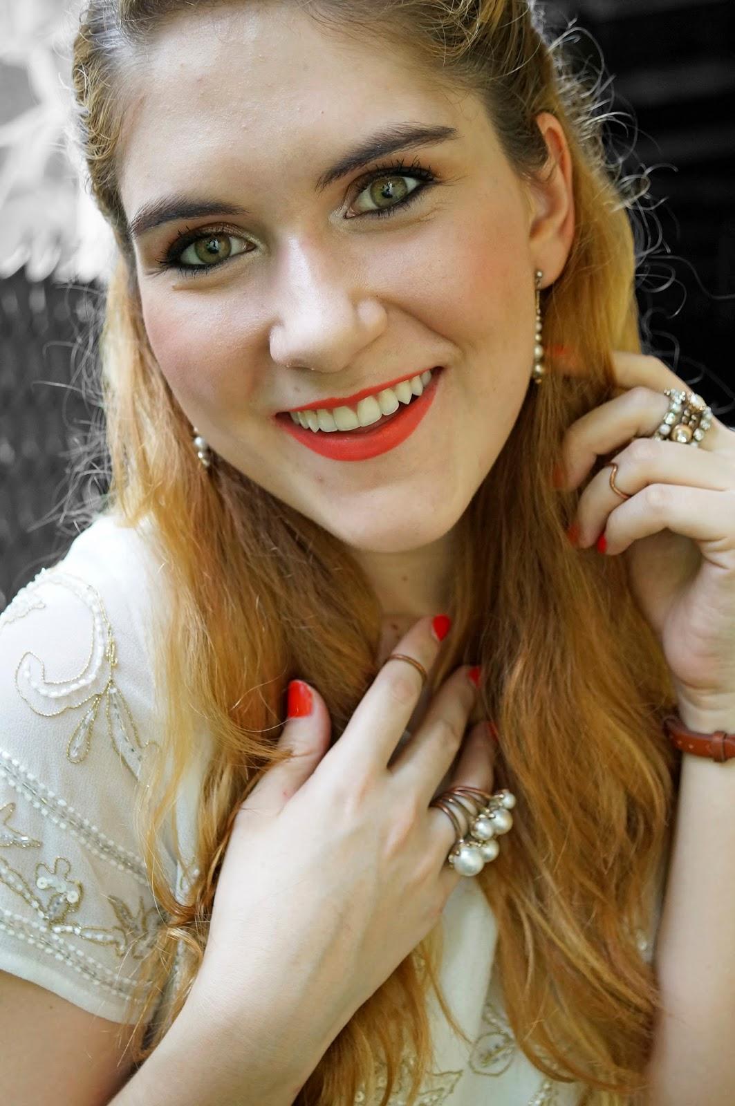 Revlon Coral Lipstick