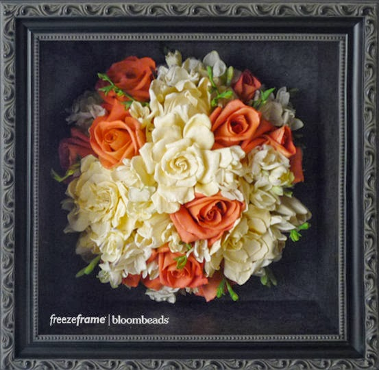 Frame your wedding flowers preserving wedding bouquets