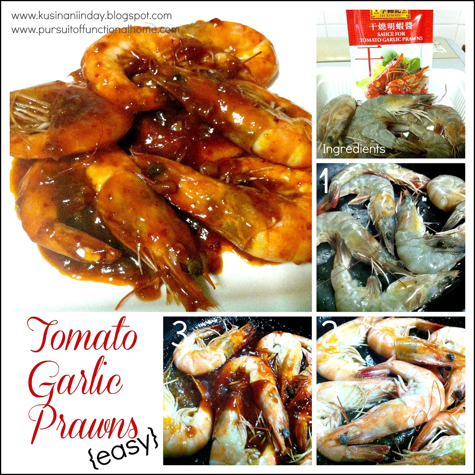 how to cook garlic prawns