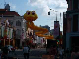 Slithering Snake spotted in Chinatown