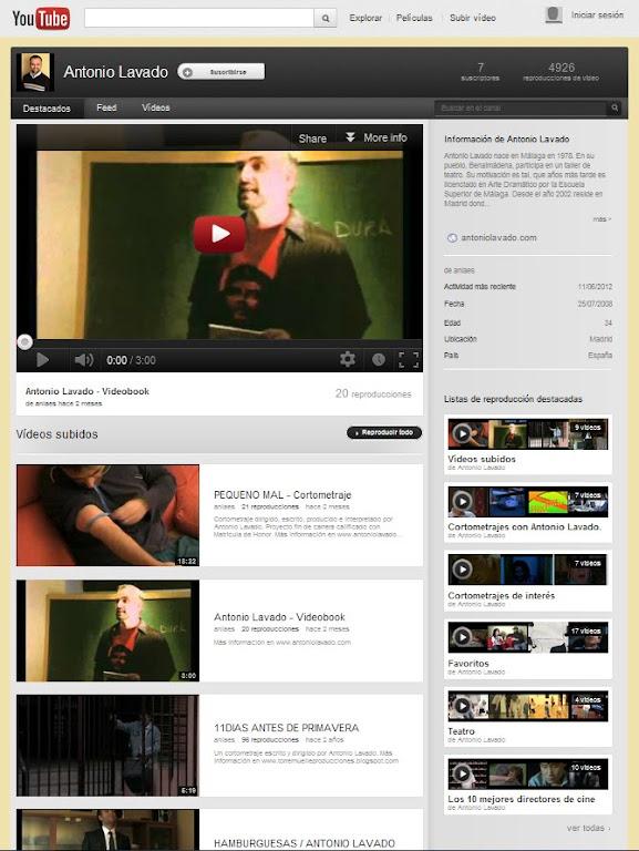 Vídeos de Antonio Lavado