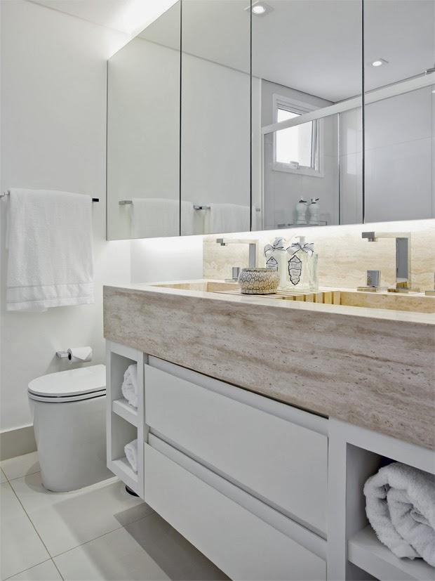 Banheiros pequenos e bem aproveitados -> Banheiro Pequeno Largura