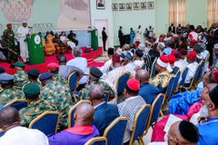 I will not be president forever: Read Buhari's speech during visit to Benue