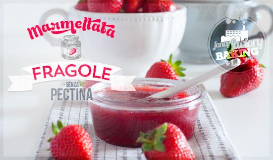 marmellata di fragole - strawberry jam