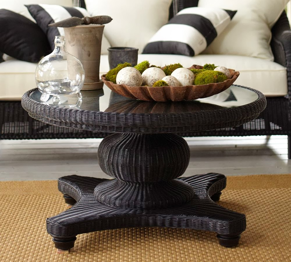 One Hundred Home: Black Coffee Table Decorating Ideas