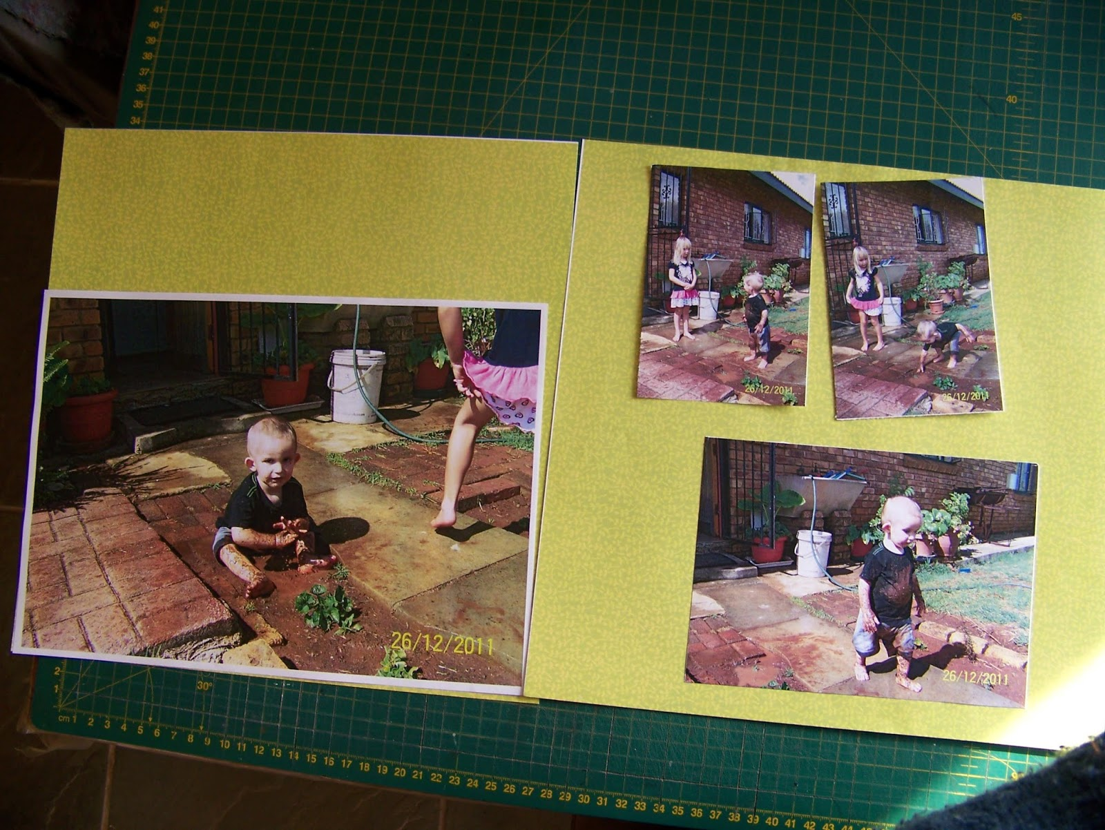 A Pretty Talent Blog Scrapbooking 11 Working Chaotically For The