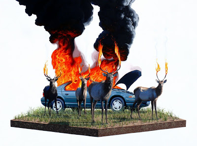 Beautiful Nature Art by Josh Keyes Seen On www.coolpicturegallery.us