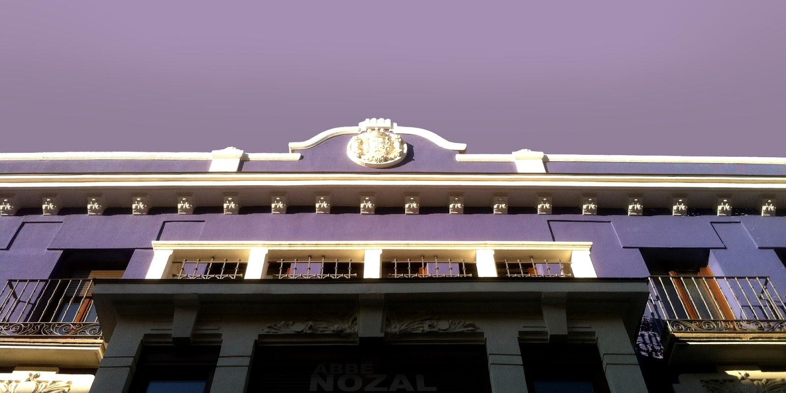 Cielo y fachada, 2014 Abbé Nozal