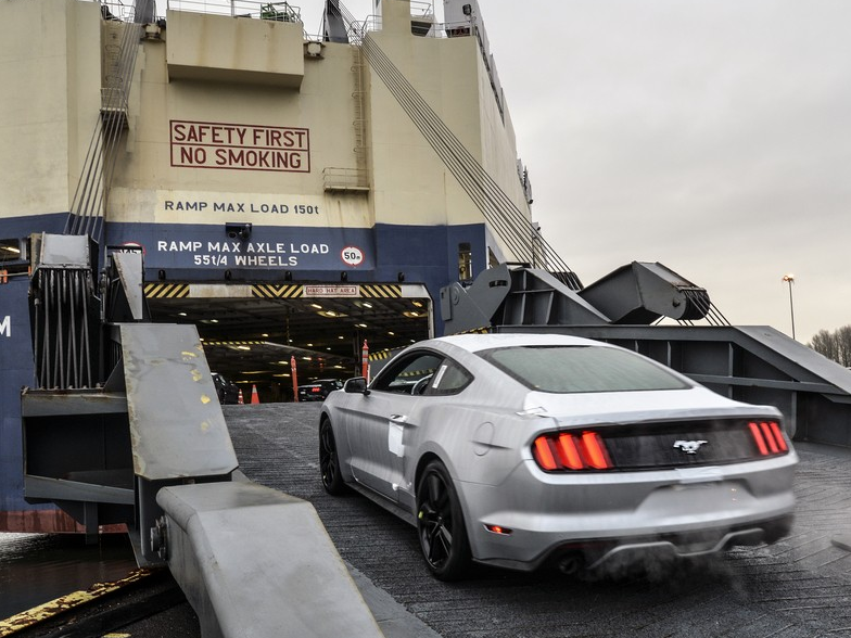 The Ford Mustang is Headed Abroad!
