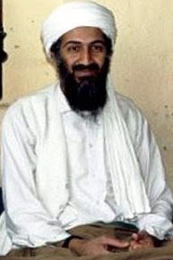 The international terrorist Osama bin Laden