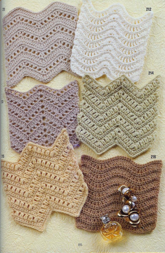Ganchillo Pattern : SOLO PUNTOS: Crochet Zigzag