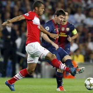 Prediksi Pertandingan Barcelona VS Benfica 3 Oktober 2012
