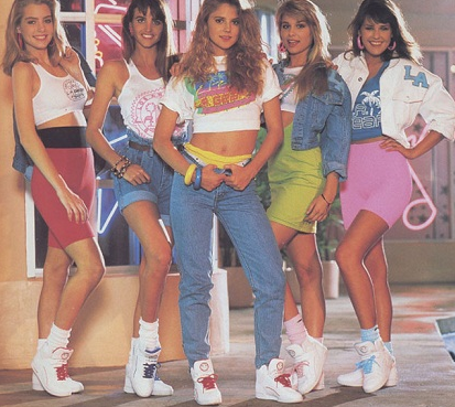 80s Fashion For Women Classy Clothes literally straight out