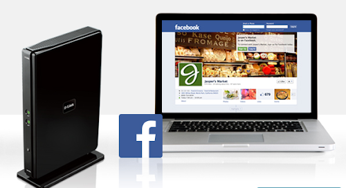 D-Link lança roteador que libera a Wi-Fi via check-in no Facebook